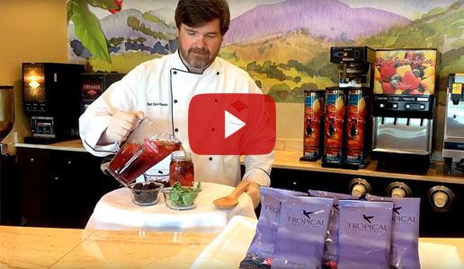 Blackberry Basil Mocktail