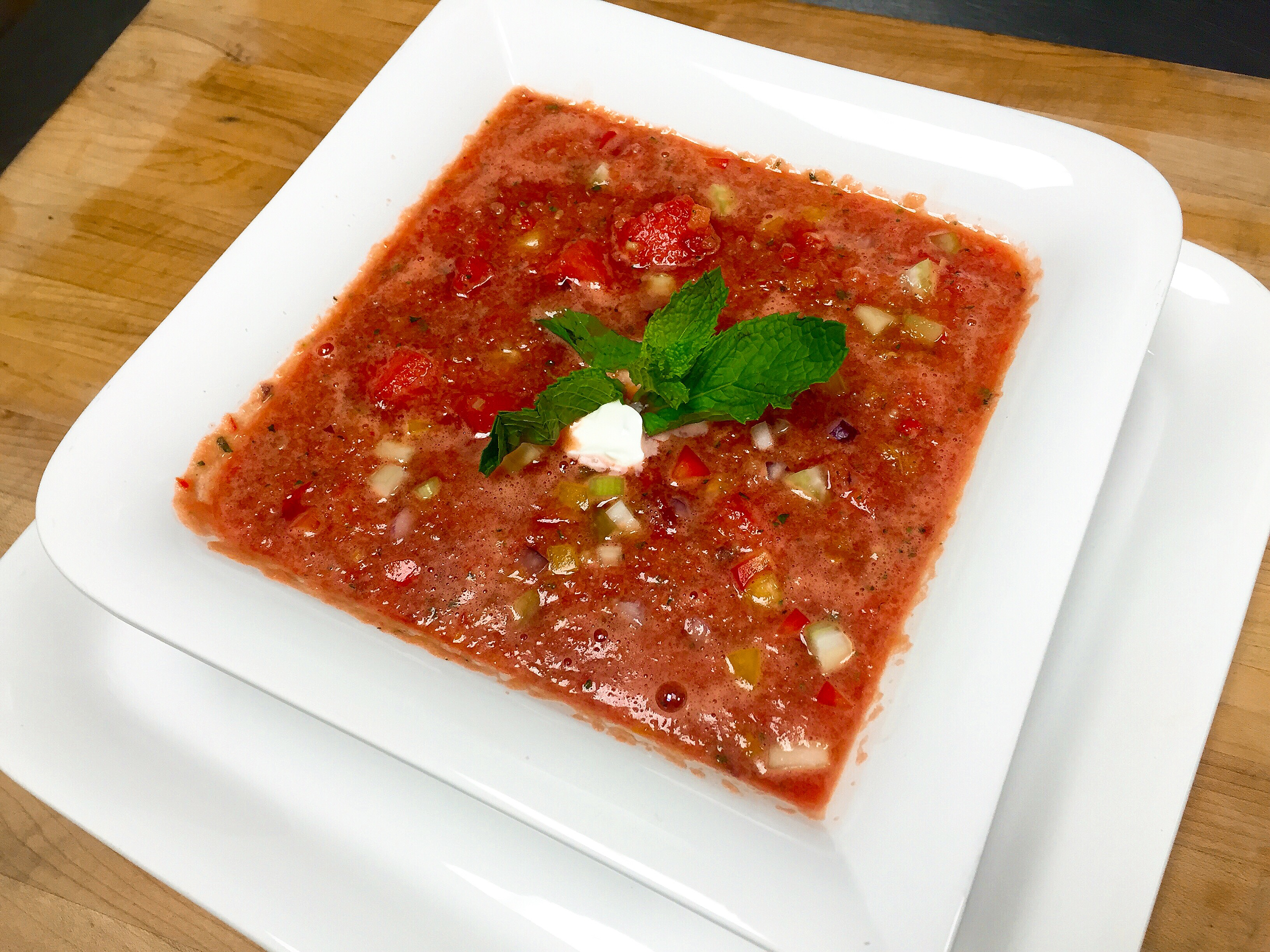 Get the Full Recipe for the Gazpacho here!
